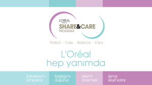 Annonce du programme Share and Care