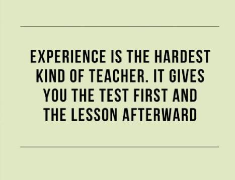 experience-as-a-teacher