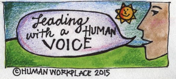 Leading with a human voice